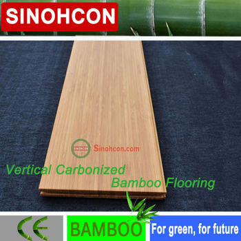 CE Certificate E1 vertical carbonized bamboo flooring