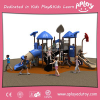 Multi Function Outdoor Amusement House Playground