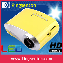 2015 hotest hd led lcd projector contrast 1000:1 vga hdmi video usb output gift for friends and family