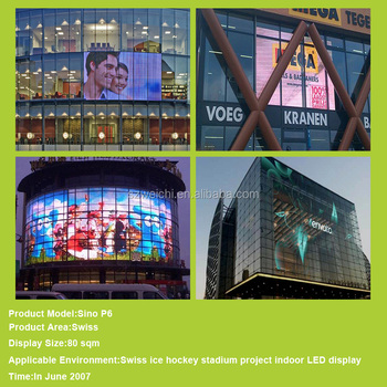 wall mounted sign boards full color module p16mm smd curtain led video display