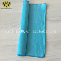 Lake Blue Color Microfiber Super Soft Super Absorbent Cleaning Cloth Fabric Towel Home Essential