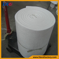 1260c High Purity Refractory Lightweight Thermal Insulation Alumina Silicate Ceramic Fiber Blanket