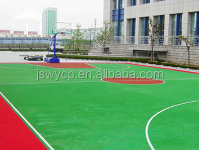 10mm good quality manufacture artificial grass for basketball