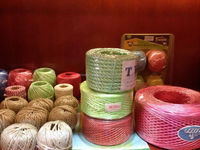 fibrillated pp yarn/sewing thread/split film string.split film rope.pp split film