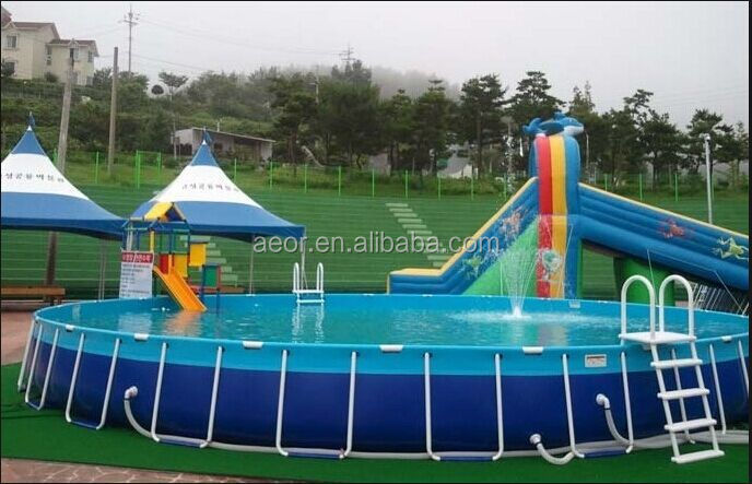 High quality pvc swimming pool,above ground swimming pool