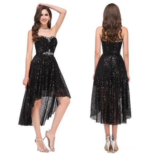 Cheap Black Dress Long In Back Short In Front Find Black Dress Long