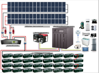 20kw Off Grid Solar System Single Phase/solar energy system price
