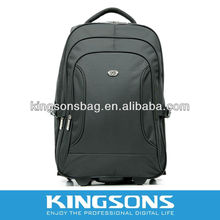 "2013 Newest Design Fashionable Laptop Backpack School bag Trolley bag 15.6"" Nylon K8379"