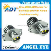 No Error 20w 32w 64w USA CR LED Angel Eye for BMW E90 E91 pre LCI car accessories