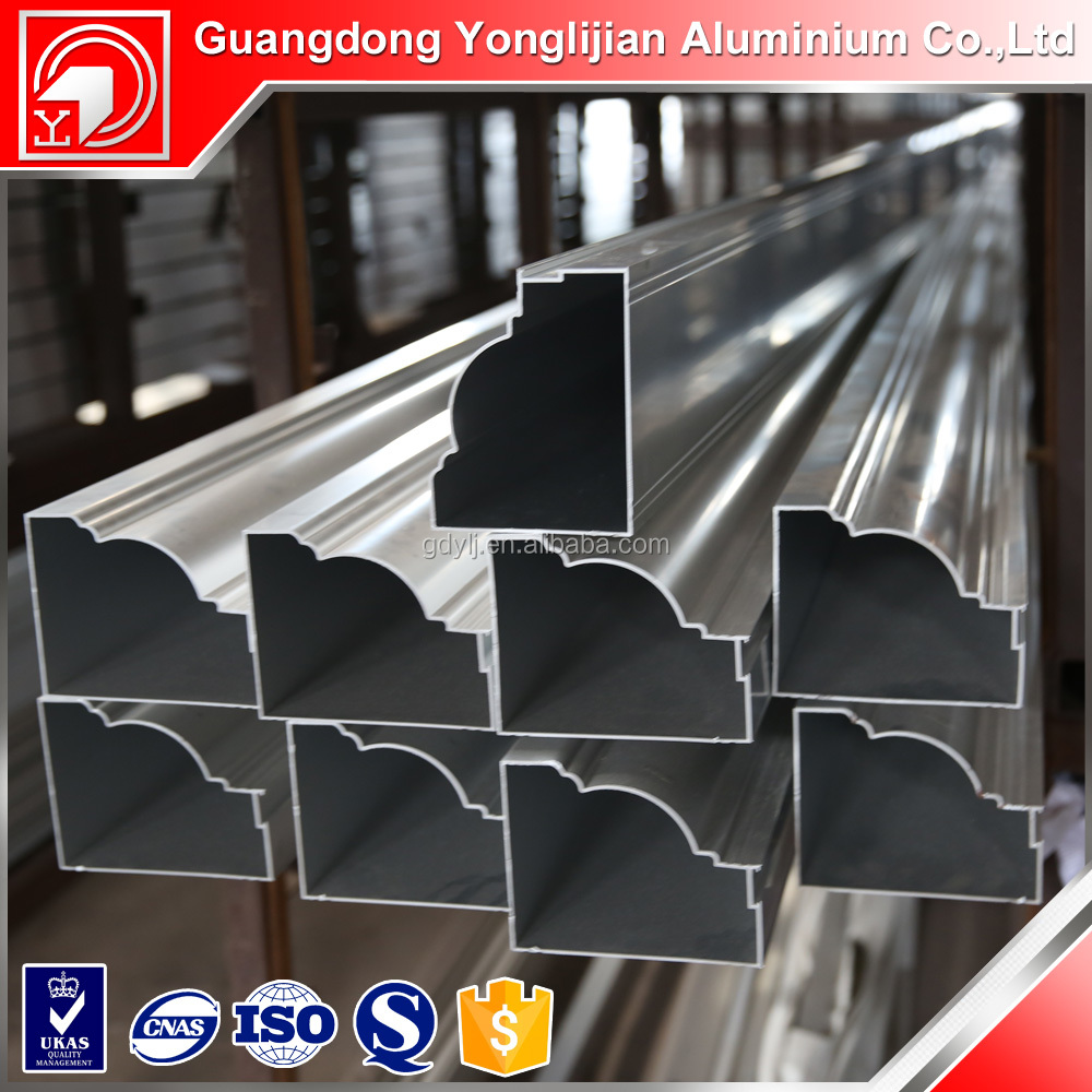 Lastest product aluminum frames door parts