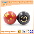 BYC China Flag Tire Valve Stem Cap, Country Flag Design In Hot Sale, Car Spare Parts