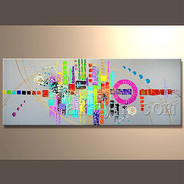 Contemporary Handmade Canvas Print Painting