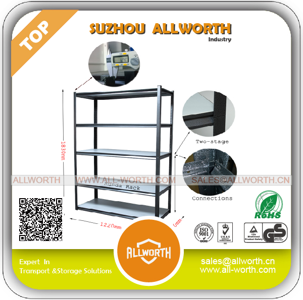 room essentials Black Shelving Unit with Steel Plate