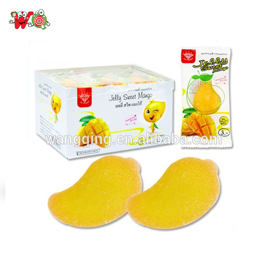 cheap price mango gummy chewy mango candy of soft candy