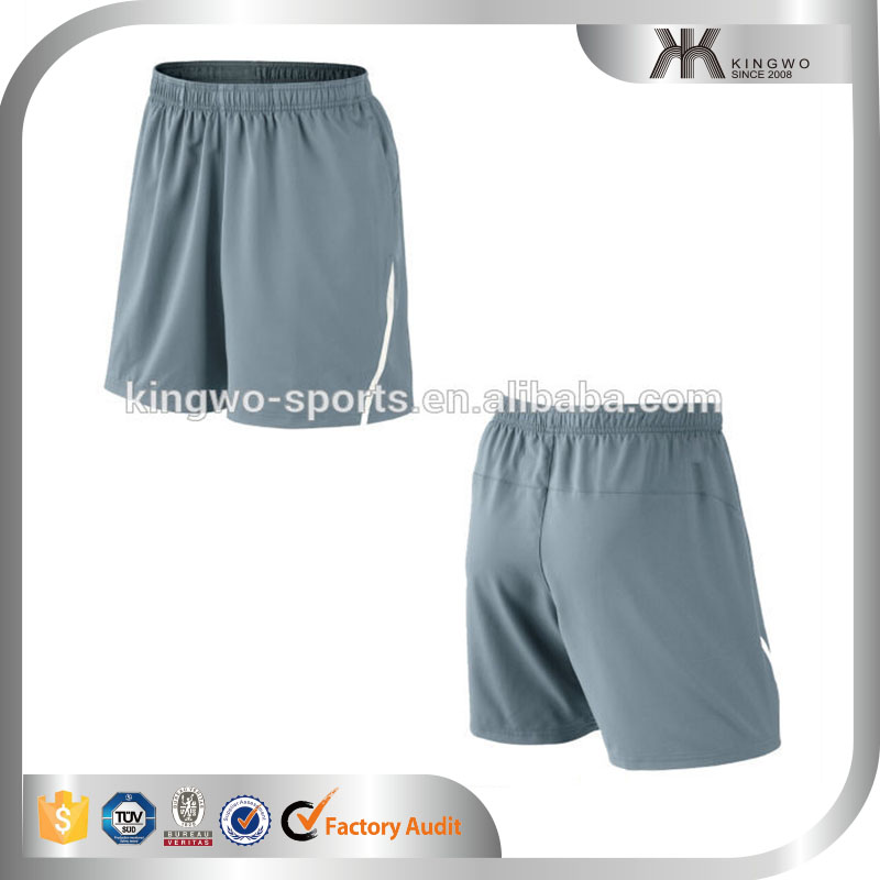 New arrvial sports wear dry fit soft mens tennis shorts