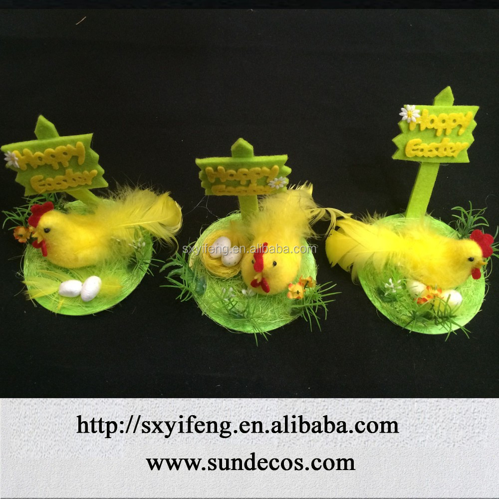 new design Easter chick with egg decoration