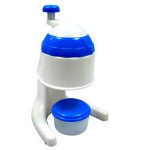 household plastic manual ice crusher