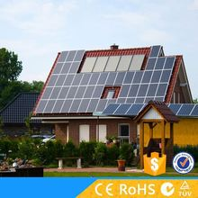 Highest cost performance 5kw solar panel system power with CE RoHS