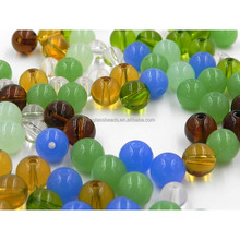 Amber rosary crystal loose round stone beads manufacturers