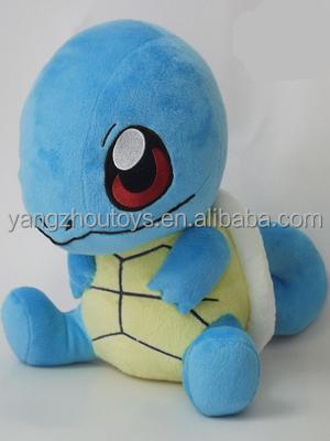 hot sale pokemon blue squirtle turtle plush toy