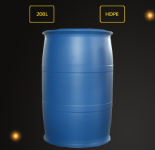 High quality blue plastic water barrel