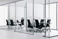 SELL 4mm 5mm 6mm high quality best factory tempered glass wall meeting room