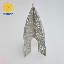 Customized Top Quality Sheet Metal Stainless Steel Laser Cutting Structural Fabrication For Christmas Decoration