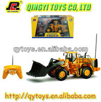 HOT!! 1:28 8 channels RC Construction Car RC Tractor trucks from shantou factory