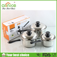 14/16/18cm stainless steel sauce pan /hot pot restaurant equipment/modern kitchen designs