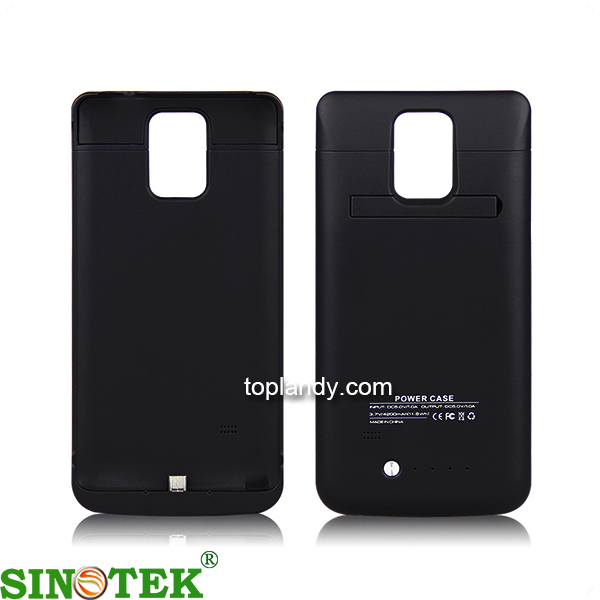 SINOTEK rechargeable battery case 4800mAh mobile phone case battery for samsung galaxy note 4