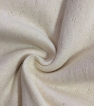 100% cotton jacquard fabric rib knit fabric for sale