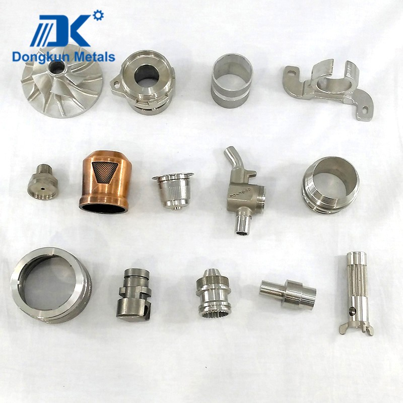 Customized aluminum alloy investment casting machinery parts