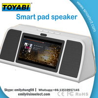 7 inch sound pad /Android pad builded in speaker/Wifi intelligent speaker
