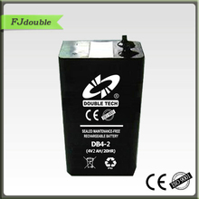 sealed 4v 2ah rechargeable lead acid battery
