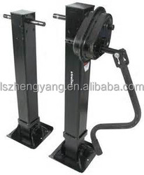 Supply One side operation Landing Gear 28ton for trailers spare parts