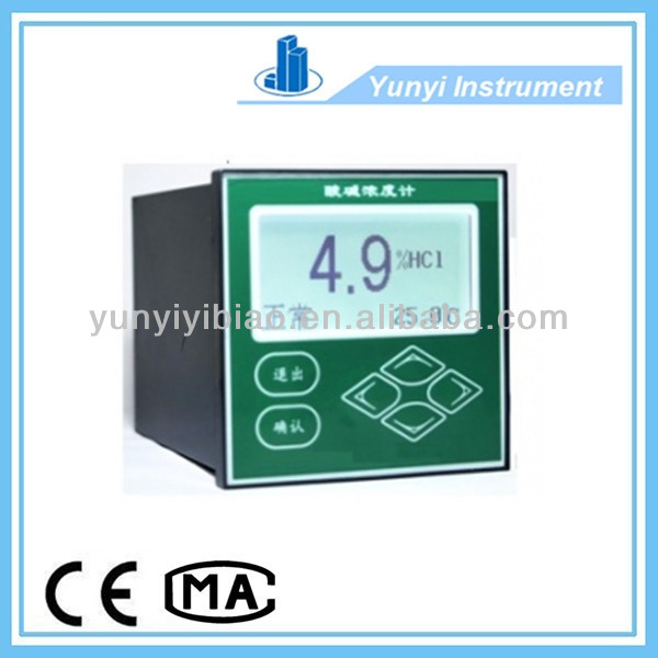 Acid Alkali Concentration Meter (Water Online Industry Monitor Analyzer)