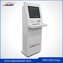 Automatic queue management system software multi touch screen kiosk