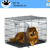 Dog Crate Kennel wire dog cage for car boot
