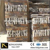 Hotsale rusty color ledge stone wall tile (Direct Factory Good Price )