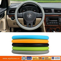 2013 new fashion silicone steering wheel cover