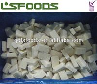 Perfect IQF frozen garlic chopped blocks