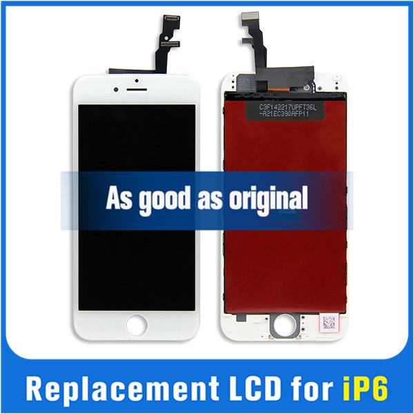 LCD for apple iphone6 with digitizer touch screen assembly replacement