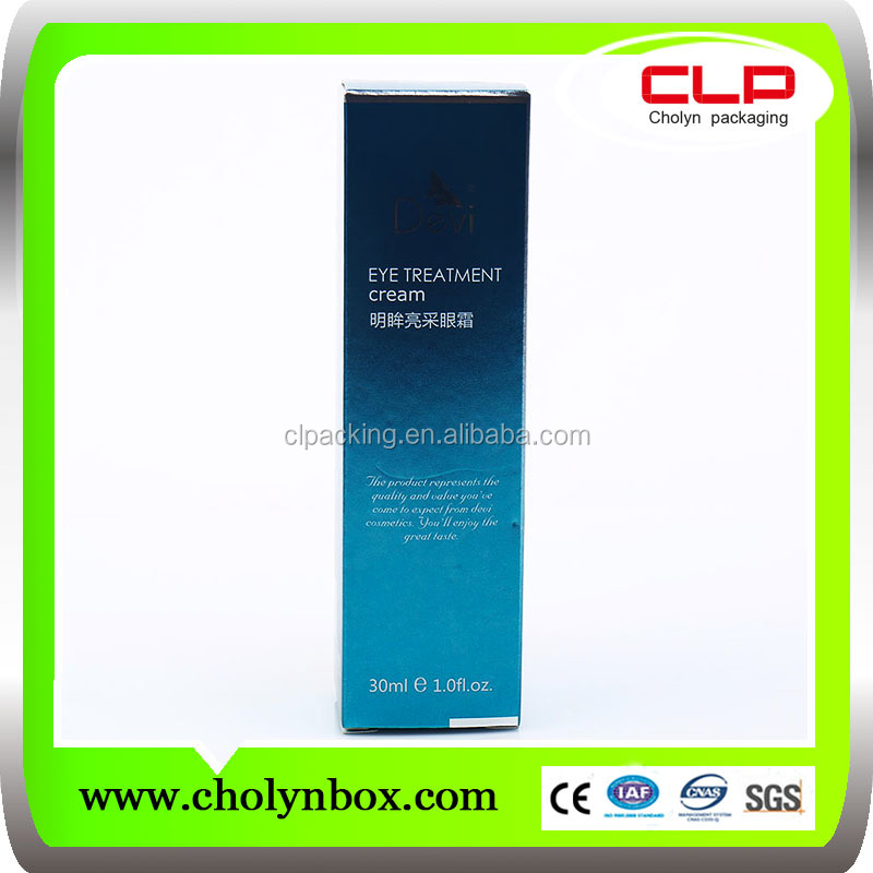 wholesale recyclable folding paper perfume packaging box