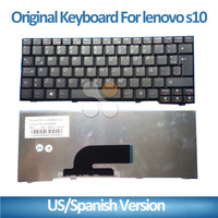 New High Quality Spanish/US/UK layout laptop Keyboard for For Lenovo S10-3 laptop notebook keyboard
