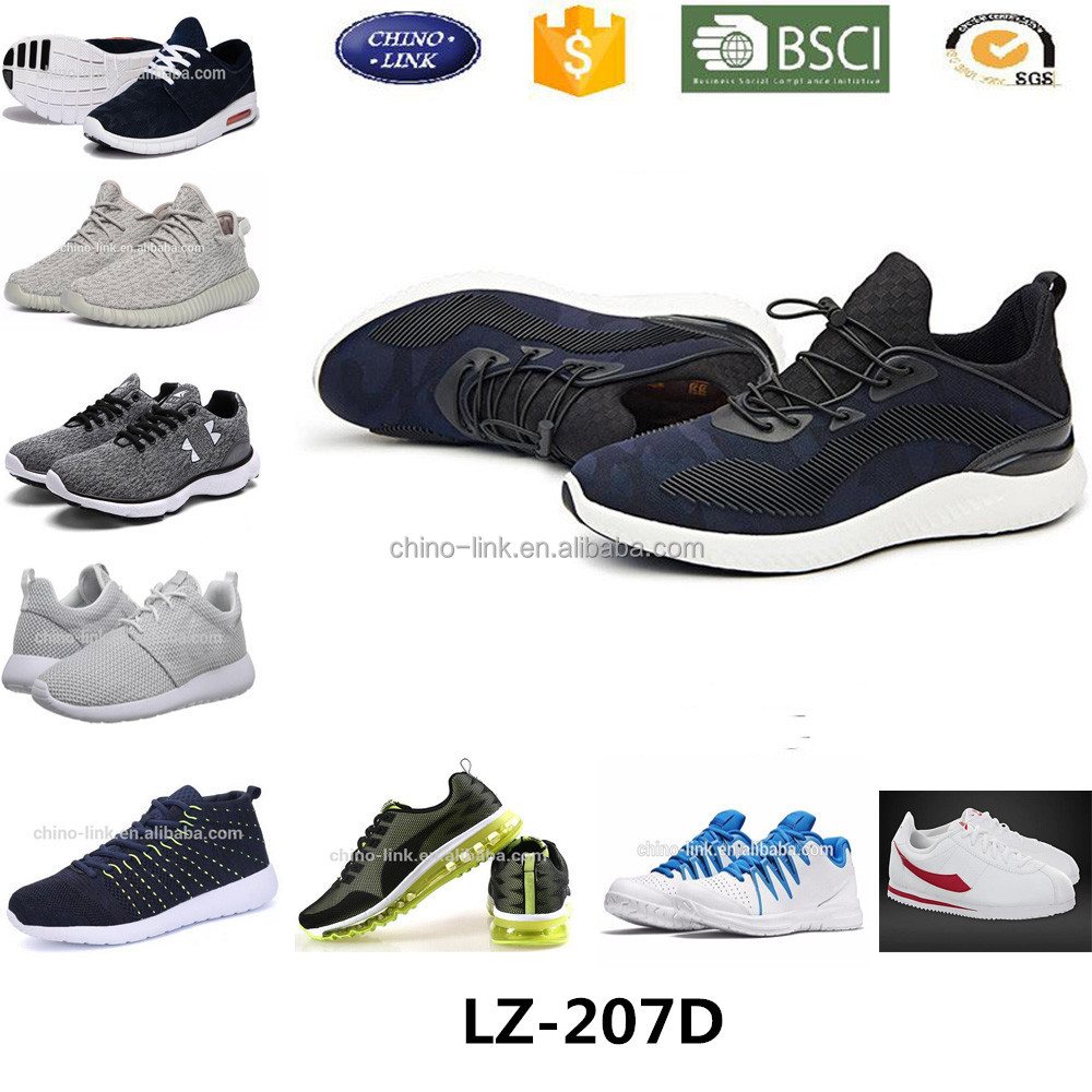 Casual stylish outdoor anti-slip sport design shoes men breathable zapatos running shoe china wholesale