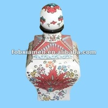 Decorative Ceramic Bacardi Turkish Old Rum Bottle