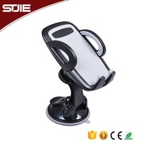 High Quality 360 Degree Adjustable Suction Cup Sticky Mobile Phone Stand Holder For Car Windshield Or Dashboard