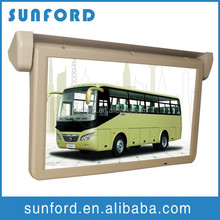 one year free warranty 22 inch tv bus advertising lcd monitor
