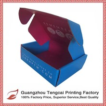 Custom printed Corrugated boxes with one color print for cupcake packaging