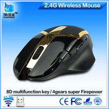 gaming 8D cool ergonomic cpi resolution 2.4g wireless mouse